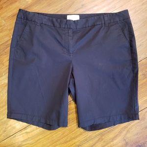 J.CREW women's size 14 Bermuda shorts